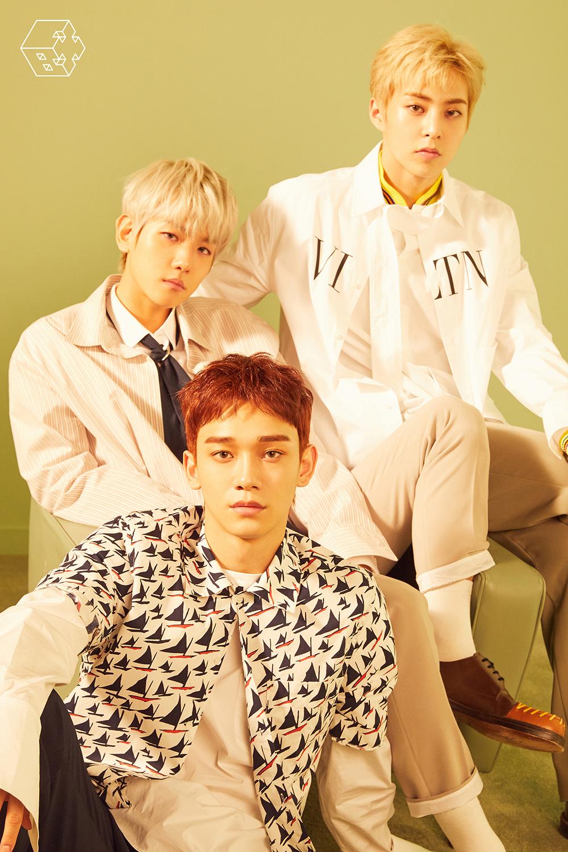 超特级小分队EXO-CBX登上gaon专辑榜1位