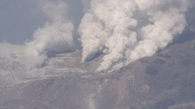 日本鹿儿岛硫黄山发生火山喷发 气象厅提醒可能发生火山碎屑流