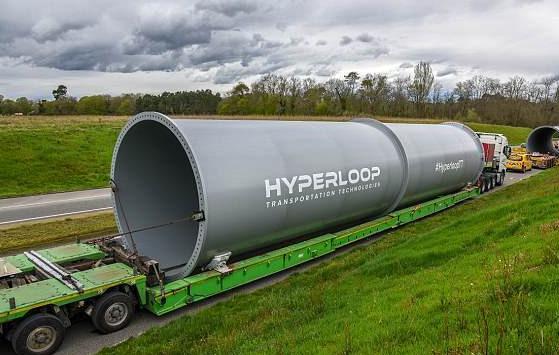 超级高铁HHT欧洲测试轨道开建