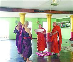 到缅甸禅修营体验佛系人生