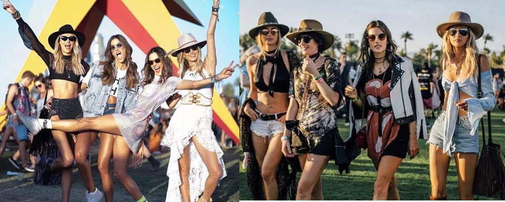 蕾哈娜碧昂斯齐聚,今年音乐节怎么穿我又有好主意了!