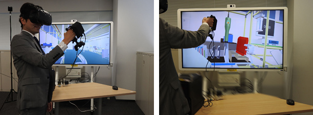 NEC开发了2种与下一代人机交互技术联动的全新企业级VR解决方案