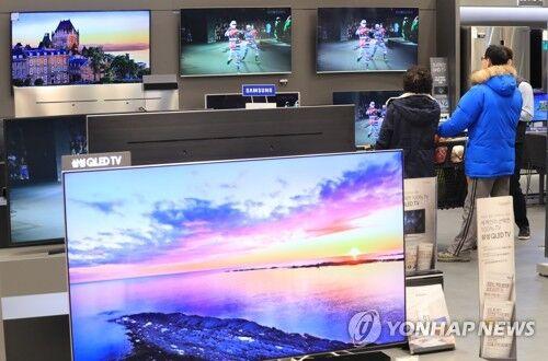 大屏幕电视韩国销量持续攀升