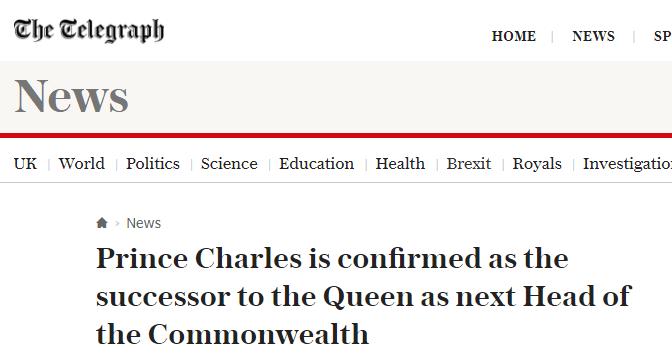 女王踏实了!儿子查尔斯被批准接任英联邦元首了