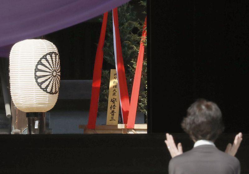 靖国神社春季例大祭 日媒:安倍供奉供品可能不前往参拜