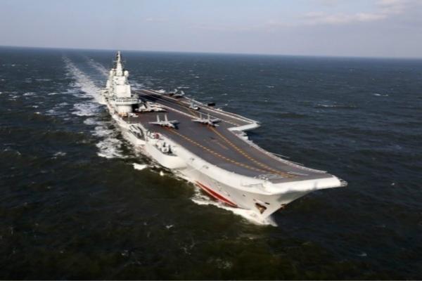 辽宁舰真的又来了 台当局紧张细数:这次是第10次