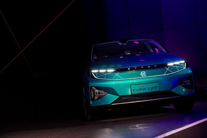 拜腾首款概念车中国首秀:获一汽战略投资