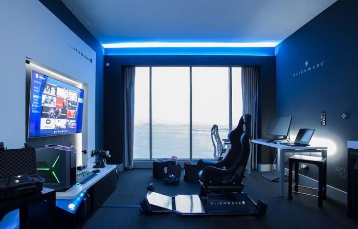 Alienware携手希尔顿打造外星人主题酒店客房