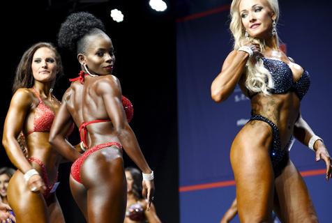 芬兰北欧健身博览会:金刚芭比强势来袭