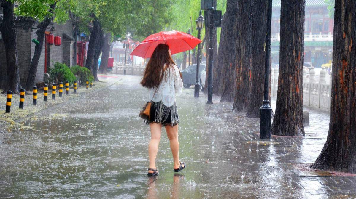 江西安徽等5省有暴雨 今明两天南方陆续迎降温