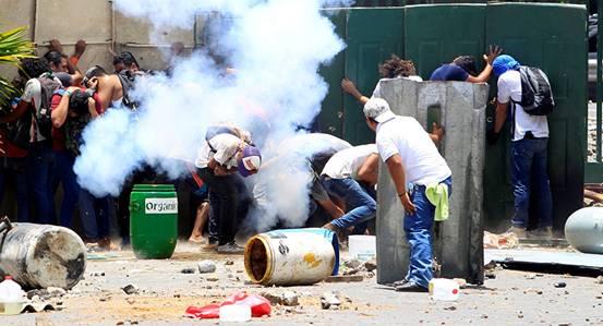 因引发大规模抗议活动 尼加拉瓜废除社会保障改革