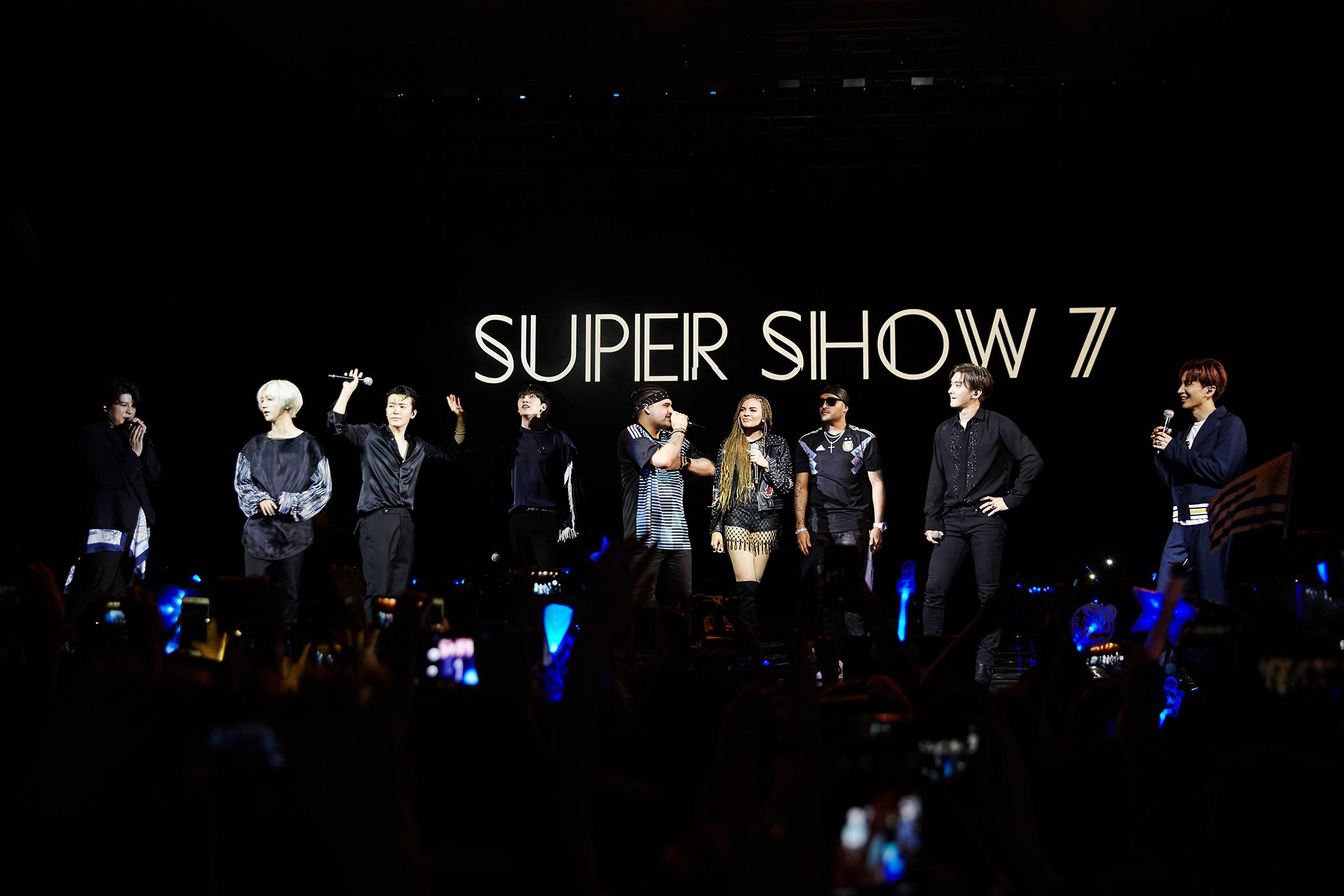 Super Junior阿根廷-秘鲁SUPER SHOW 7演唱会圆满结束