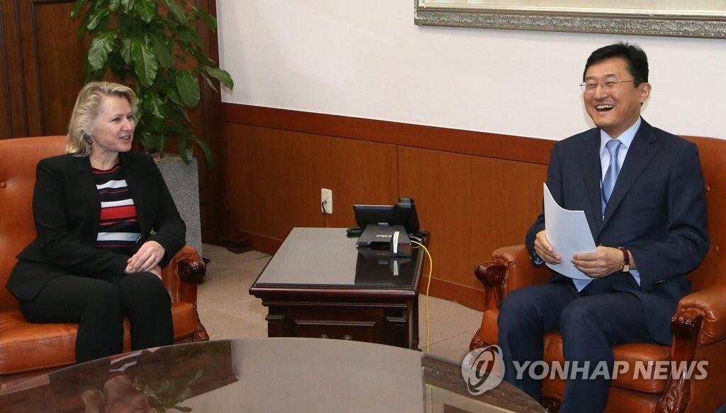 韩美外长助理会晤协调对朝政策