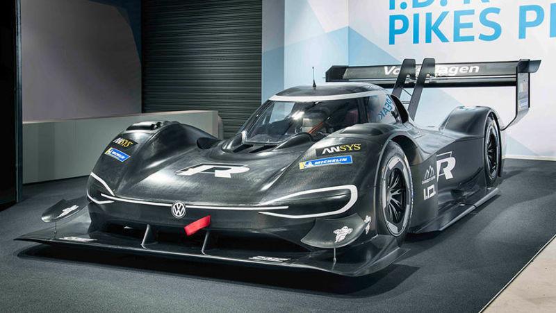 大众纯电动赛车加速比F1还快 100km/h只需2.25秒