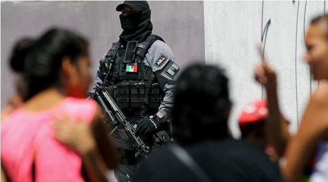 国家安全部门:墨西哥第一季度发生近8000起谋杀案