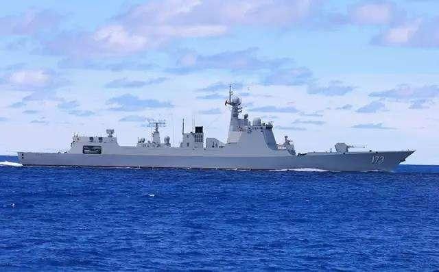 052D型导弹驱逐舰173号长沙舰。资料图片