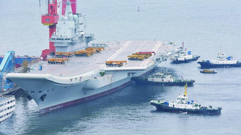 国产航母海试迹象如何预判?只需简单盯紧这4项就OK!