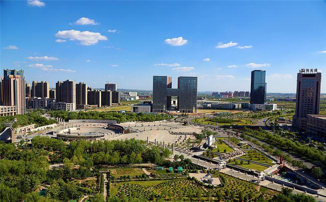 20年建设焕然一新 陕西榆林城区变得更大更美更宜居