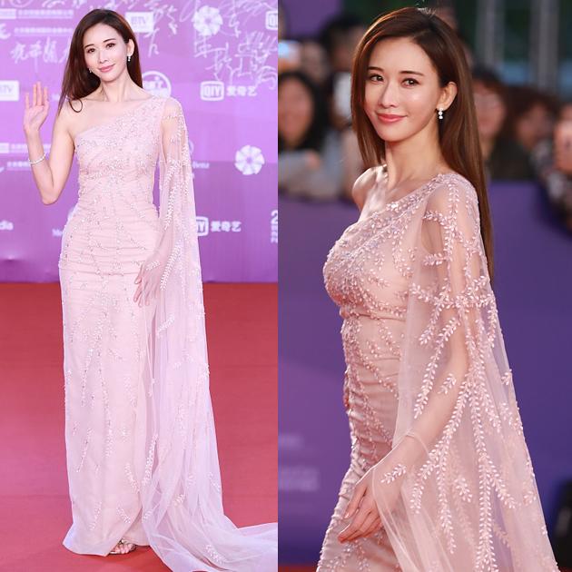 林志玲走红毯上最爱的薄纱裙?透视装又开始流行!