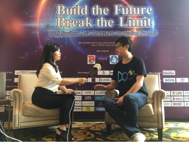 DCC创始人朱晟卿接受越南电视台专访谈区块链