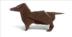 """创意手工DIY,教你折纸""""腊肠犬""""的方法"""