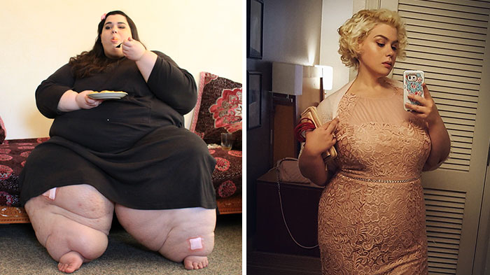 美国真人秀《我的600磅生活》引热议 主角减肥前后惊呆观众