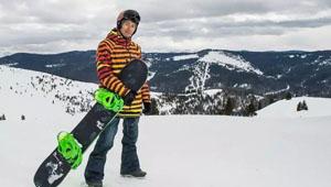 单板滑雪冠军夏雨