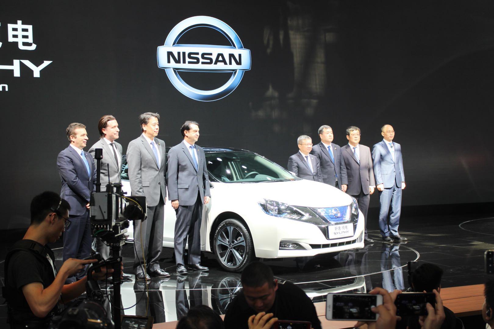 日產汽車開啟全新電動汽車時代