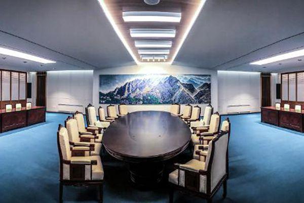 韩朝首脑会谈将举行 会场画面提前曝光!