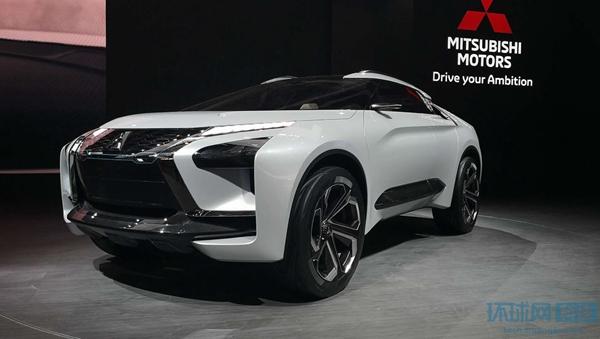 2018北京车展:三菱e-EVOLUTION概念车亮相
