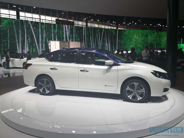 日产脑控车亮相并发布首款中国定制版电动车