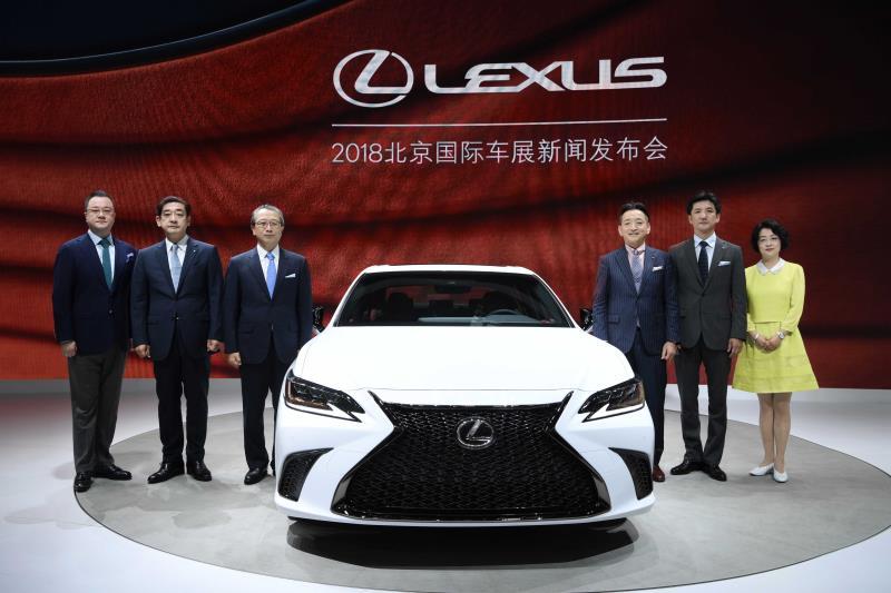 LEXUS雷克萨斯携中大型豪华行政级轿车全新ES亮相2018北京国际车展
