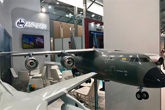 乌克兰展出下一代运输机 具备短距离起降能力
