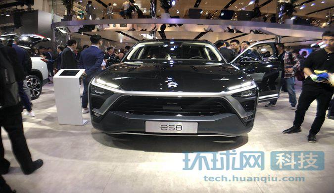 国产电动SUV蔚来ES8 6座版车型亮相 续航达355公里