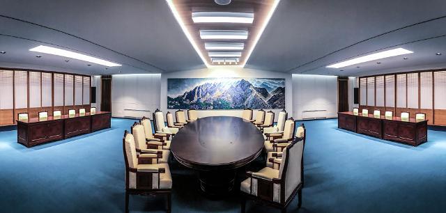 一文读懂韩朝首脑会谈会场内饰:从桌椅到饰花