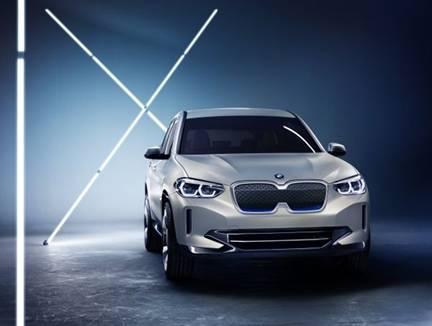 全新BMW iX3概念车/国产全新X3 宝马集团全面展示创新实力