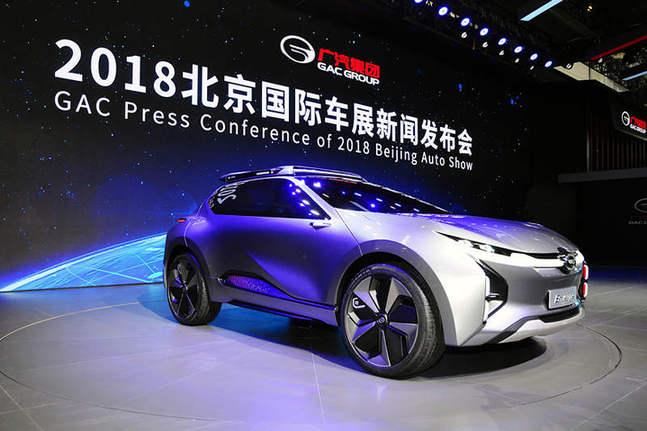 创无止境心有未来 广汽集团参展2018第十五届北京国际汽车展览会