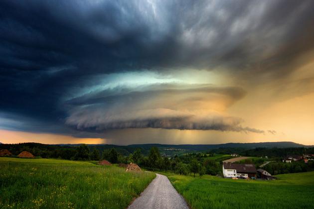世界各地奇幻云景集锦 那是大自然谱写的美丽诗篇
