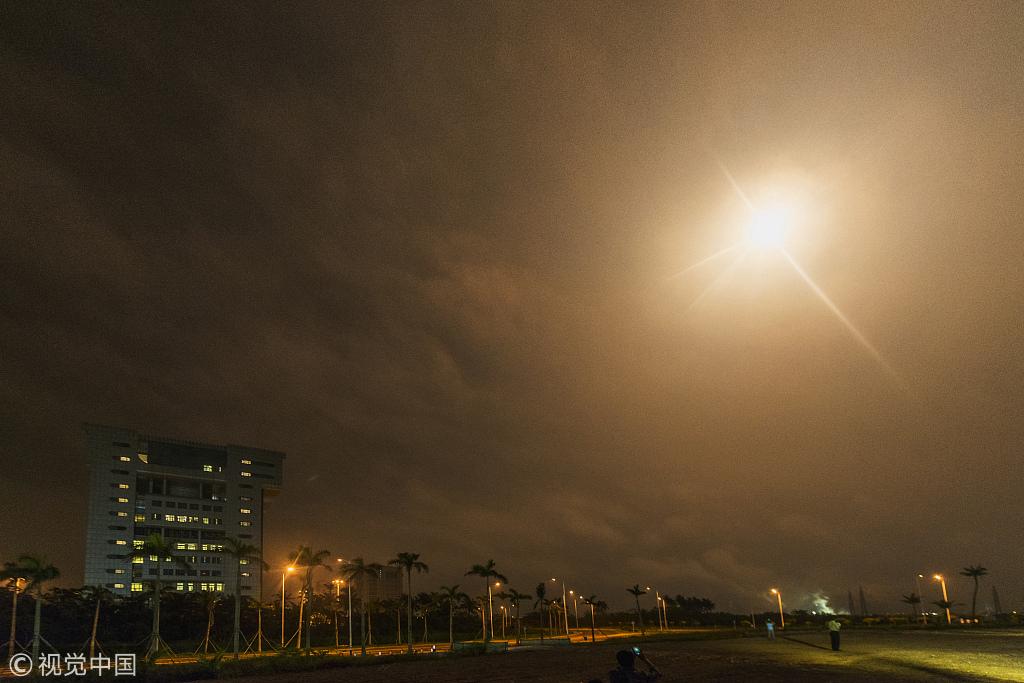 海南文昌:中国航天日 火箭扬我国威上九天