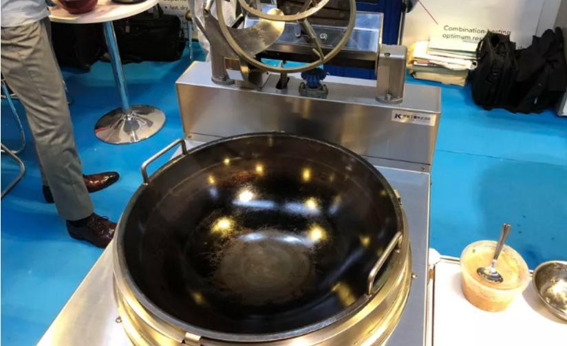 中式铁锅!自动炒饭机可为你带来完美炒饭