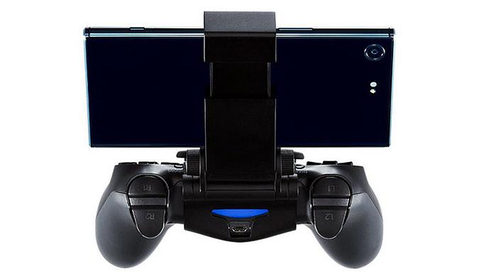"""索尼公布手机用PS4遥控游玩支架""""X mount"""""""