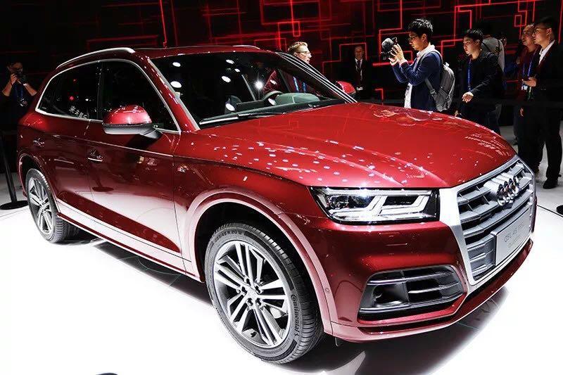 朗逸Plus/大眾CC/奧迪Q5L北京車展亮相