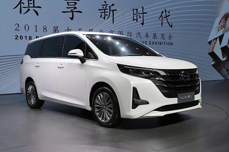 傳祺GM6/哈弗H5北京車展亮相