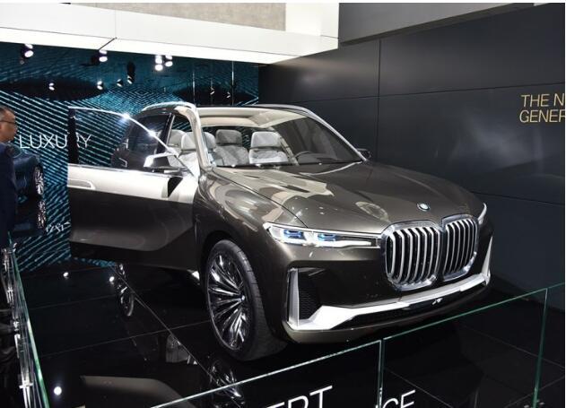 【2018北京车展】宝马X7概念车中国首发