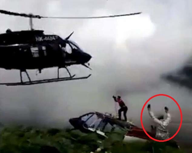 哥伦比亚一工程师指挥直升机救援时被倾斜叶片击中身亡