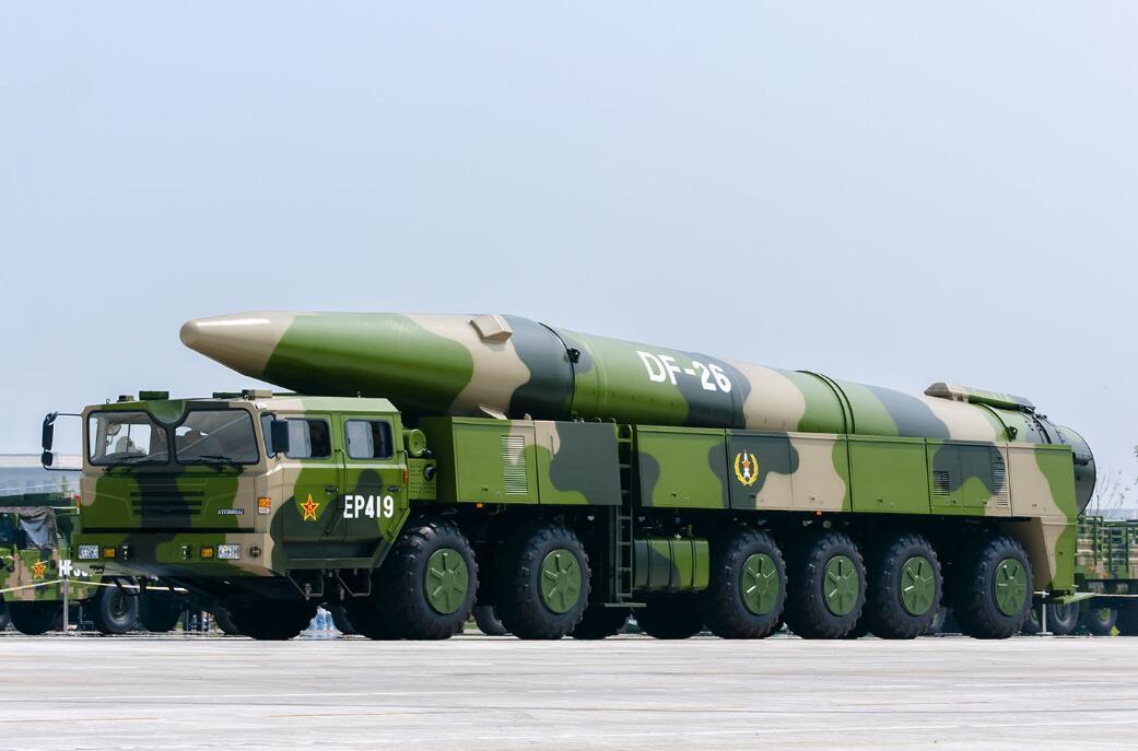 国防部:东风-26导弹列装火箭军 具备四大特点