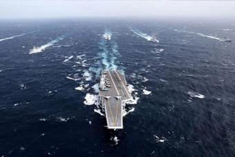 震撼!南海大阅兵一镜到底 48艘战舰铁流澎湃