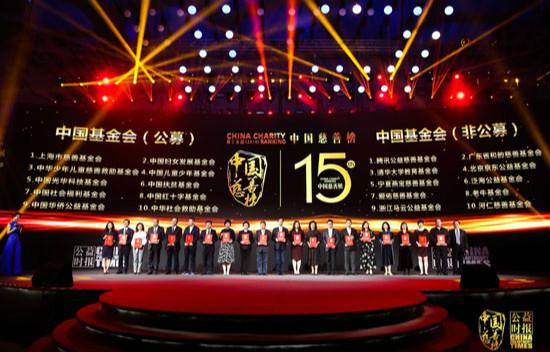 第十五届(2018)中国慈善榜在京发布  172位慈善家、721家慈善企业合计捐赠近200亿元