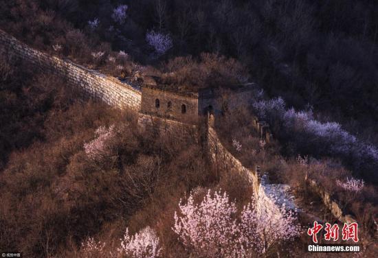 北京箭扣长城修缮将首次借助无人机、人工智能等高科技