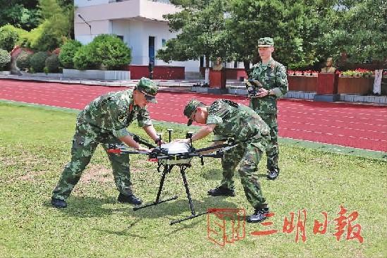 三明市防指举办防汛无人机练兵比武活动